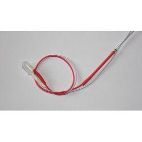 Led Clignotante 5mm Rouge Et Blanc