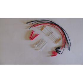 Led 1,8mm Clignotante Rouge à Câbler - Par sachet de 4