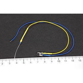 Led 5mm  clignotante  jaune et bleue