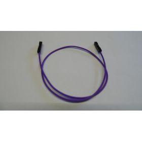 Connecteur Femelle/femelle fil mauve