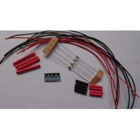 Micro Led Type B Jaune Ambre à Câbler - Par sachet de 4
