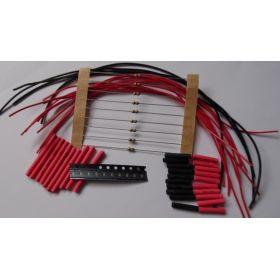 Micro Led Type B Jaune Ambre à Câbler - Par sachet de 10