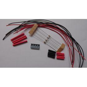 Micro Led Type B Rose à Câbler - Par sachet de 4