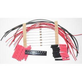 Micro Led Type C Rouge à Câbler - Par sachet de 10