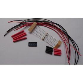 Micro Led Type C Jaune Ambre à Câbler - Par sachet de 4