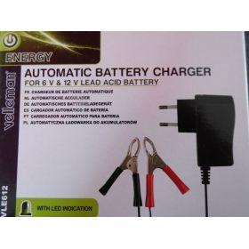 Chargeur batterie  6v 12 v
