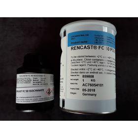 Résine Polyuréthane Blanche RENCAST FC 50 1,2 kg