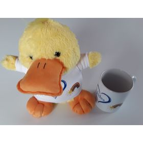 Peluche Canard plus Mug