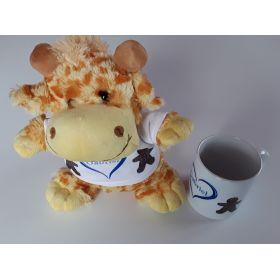 Peluche Girafe plus Mug