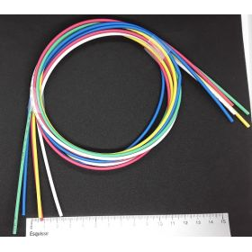 Lot de 5 gaines thermorétractables 1.6mm