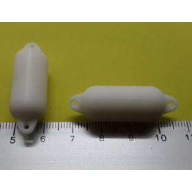 2 Bouées de pare battage 15 x 45 mm blanche