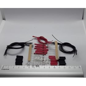 led 3 mm bi-couleur blanc chaud/rouge 3 fils à câbler