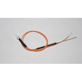 Led Canon Long 2mm Clignotante Orange