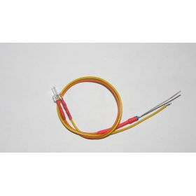 Led Canon Long 2mm Clignotante Jaune Ambre