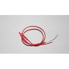 Led Canon Long 2mm Clignotante Rouge Diffusant
