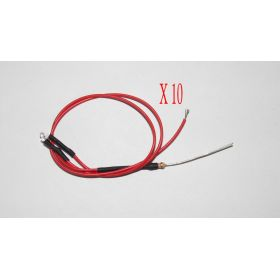 Led 1,8mm Rouge - Par sachet de 10