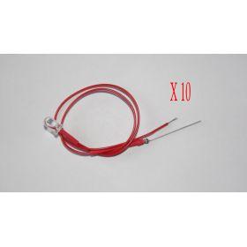 Led 5mm Rouge  - Par sachet de 10