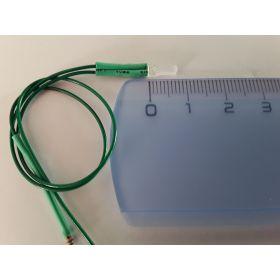 Led 2mm carré vert  - Par sachet de 10