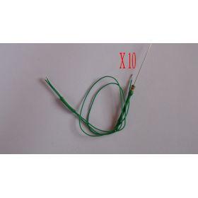 Micro Led Type B Vert - Par sachet de 10