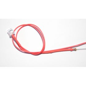 Led Tube Cylindrique 5mm Rouge