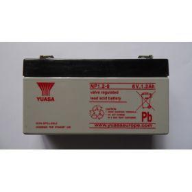 Batterie Rechargeable 6v 1,2ah Yuasa