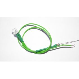Led Tube Cylindrique 5mm Verte