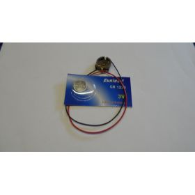Pile Bouton Avec Support Cr1220 3v
