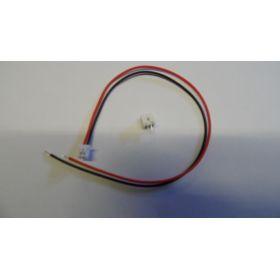 Connecteur 4x4 mm avec fil mâle/sans fil femelle