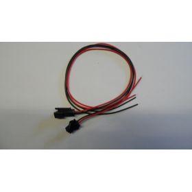 Connecteur A Clipser 8x8x14mm Avec Fil Male/femelle