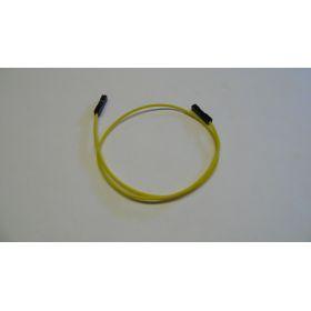 Connecteur Femelle/femelle fil jaune