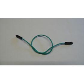 Connecteur Femelle/femelle fil vert