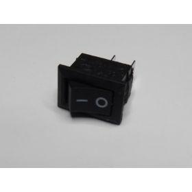 Interrupteur Rectangulaire 14mmx10mm Noir  (2 Broches)