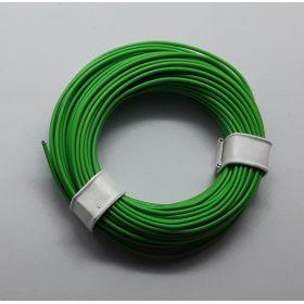 Bobine fil électrique 0,14mm vert 10m