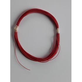 Bobine Fil Electrique 0,5mm Rouge 10m