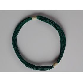 Bobine Fil Electrique 0,5mm Vert 10m