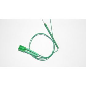 Led Tube Cylindrique 5mm Vert Diffusant