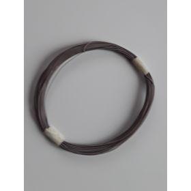 Bobine Fil Electrique 0,5mm Gris 10m