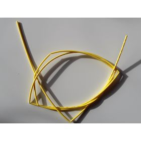 Gaine Thermorétractable 1,6mm Jaune