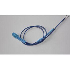 Led 5mm bleu diffusant clignotante