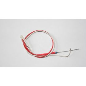 Led 3mm blanc/rouge clignotant opaque