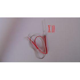 Micro Led Clignotante Type A Disco Rapide - Par sachet de 10