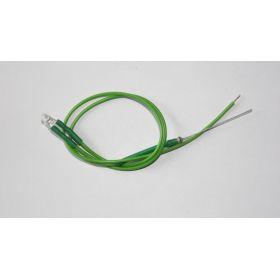 Led 3mm Vert à Câbler  - Par sachet de 10