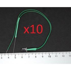 Led Clignotante 5mm Vert - Par sachet de 10