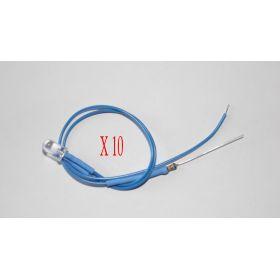 Led Clignotante 5mm Bleue   - Par sachet de 10